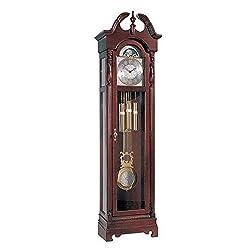 LBN Grandfather Clock Dial Pendulum Chain Floor Face Corner Wall Chime Clocks Cherry New