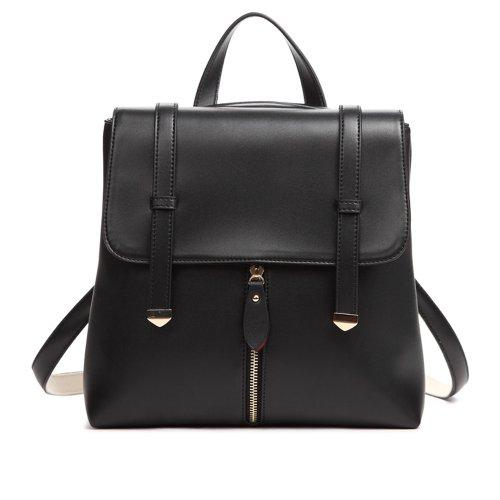 Coofit® Retro Vintage Style College Style Multi-purpose Schoolbag (Black)