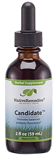 Native Remedies Candidate for Candida Balance and Maintenance, 59 ml