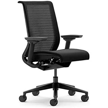 Amazon Com Steelcase Think 3d Mesh Fabric Chair Licorice