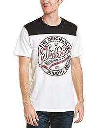 Men's Dimes Short Sleeve Football Crew Neck Tee Shirt