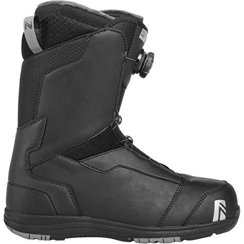 Nidecker x Flow Aero Boa Coiler Snowboard Boot - Men's Black, 11.5