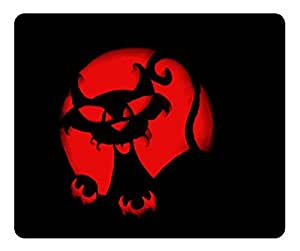 Happy Halloween Cat Pumpkin Carving Mouse Pad - Durable Office Accessory Desktop Laptop MousePad and Gifts Gaming mouse pads by runtopwell