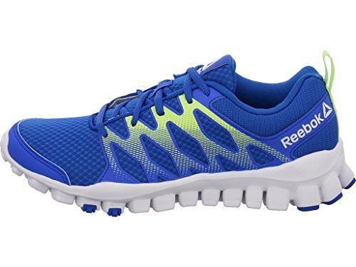 Reebok Realflex Train 4.0, Zapatillas de Gimnasia Unisex Niños Azul (Vital Blue / Electric Flash / White)