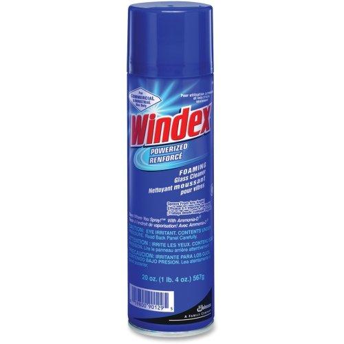 Windex Glass Cleaner - Aerosol - 20 fl oz (0.6 - Windex Glass Johnsondiversey
