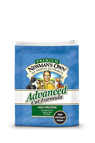 NewmanS Own Advanced Cat Dry Formula, 3-Pound Bag