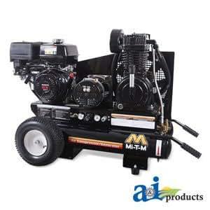 Air Compressor / Generator, Portable; 16.3 CFM@100 PSI, 15