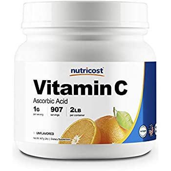 Amazon Com Bulksupplements Ascorbic Acid Vitamin C