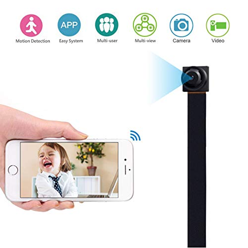 MAGENDARA Spy Camera WiFi Hidden Camera, Mini Wireless Camera 1080P Camera with Motion Detection