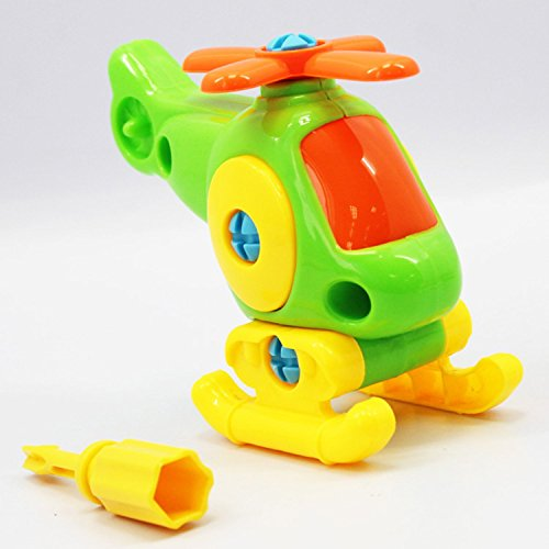 Ski Free Monster (Baby Plane Toy Disassembly Assembly Classic Plane Toys Kids Children Educational Toys Gifts Hot)