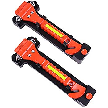 Amazon.com: Juego de 2 martillos de seguridad para coche ...