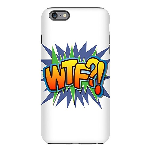 iPhone 6 Plus Tough Case Text Abbreviation WTF?!