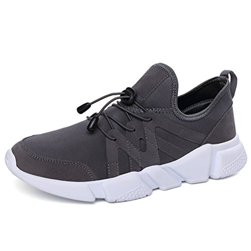 Running Shoes for Men Mens Sneaker Fashion Sports Outdoor Athletic Shoes Trainer Shoe Gray