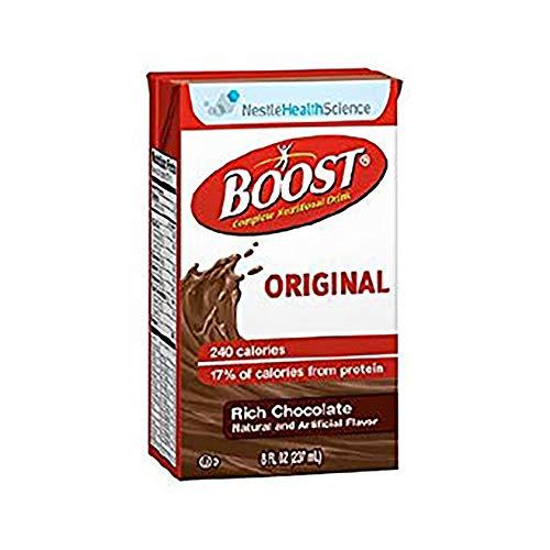 Boost Original Nutrition Shake - 8 fl oz - Rich Chocolate (Case of 27)