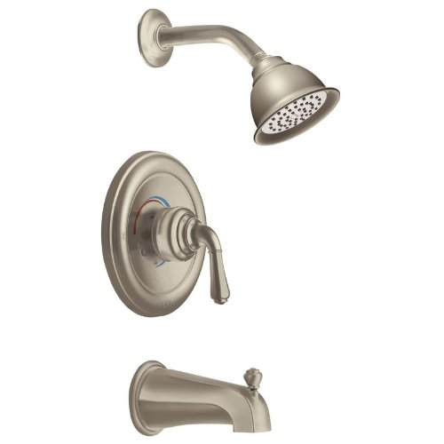 Monticello Inspirations Posi-Temp Dual Control Tub and Shower Faucet Trim Finish: Satine - Monticello Posi Temp Valve