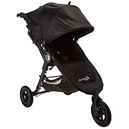 Baby Jogger City Mini GT Stroller – 2016 | Baby Stroller with All-Terrain Tires | Quick Fold Lightweight Stroller, Black