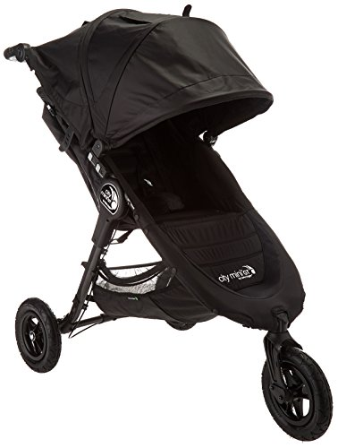 Baby Jogger City Mini GT Stroller - 2016 | Baby Stroller with All-Terrain Tires | Quick Fold Lightweight Stroller, Black (Baby Jogger City Mini Gt Double 2016)