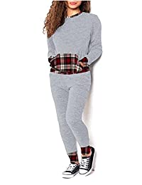 F&F Women Ladies Contrast Print 2 Pieces Pcs Jogging Tracksuit Lounge Set