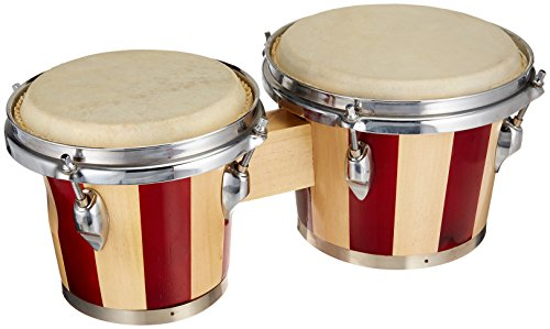 Performance Plus 439-TT Tunable Two Tone Wood Bongos by Performance Plus