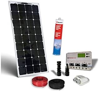 PuntoEnergia Italia - Kit Solar Barco 120W 12V Pro Placa ...