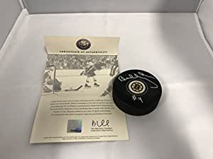 Bobby Orr Autographed Signed Boston Bruins NHL Puck ORR Great North COA & Hologram