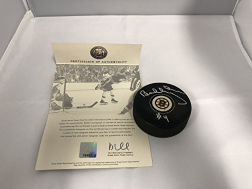 Bobby Orr Autographed Signed Boston Bruins NHL Puck ORR Great North COA & Hologram Bobby Orr Autographed Puck