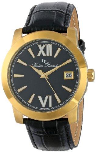 Lucien Piccard Women's LP-10026-YG-01-BK Bordeaux Analog Display Japanese Quartz White Watch