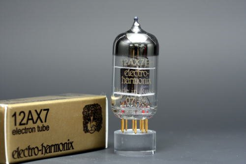 12AX7/ECC83 EHゴールド 8本マッチ 低ゲイン 真空管PG11   B002U1XSXI