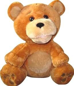 iHip Animated Dancing Plush Animal Speaker, Bear (Brown)
