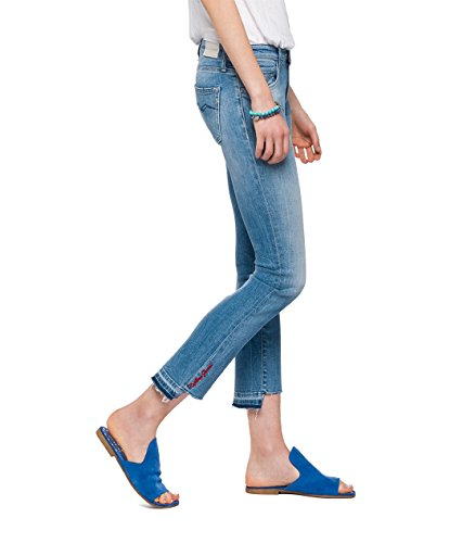 Replay Jean 9 Femme Bleu vas Denim rRxfrFdn
