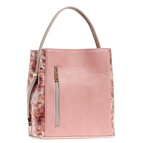'Callie' Designer Inspired Rose Blush Handbag by Samoe Style
