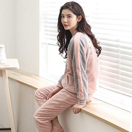 Ropa Pink Pijamas De Pink Pueden Usar Se Larga Damas Size Deportes Moda E Manga L Invierno Del Otoño Servicio Fuera Para color Doméstico HqEXrH