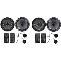 2-Pairs Kicker 44KSS6704 6.75 250 Watt Car Audio Component Speakers Pair KSS670