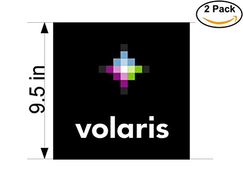 Volaris Airlines Airplane Sticker Decal 2 Stickers Huge 9 5 Inches