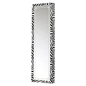 Amazon.com: Mirrotek Jewelry Armoire Over The Door Mirror ...
