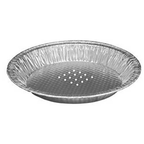 Handi Foil of America 9 inch Perforated Pie Pan - 200 per case.