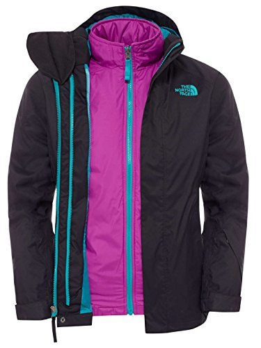 G Jacket North Face Couleur Kira Noir Fille Pour Taille Triclimate The Veste fuchsia Ys xXpEaTw