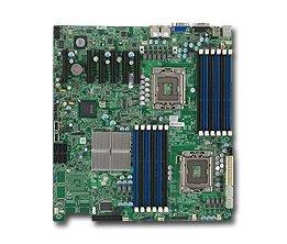 Supermicro MBD-X8DTE Dual LGA 1366 6 SATA Ports via ICH10R D