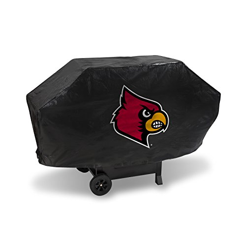 NCAA Louisville Cardinals Deluxe Grill Cover, Black, 68 x 21 x 35