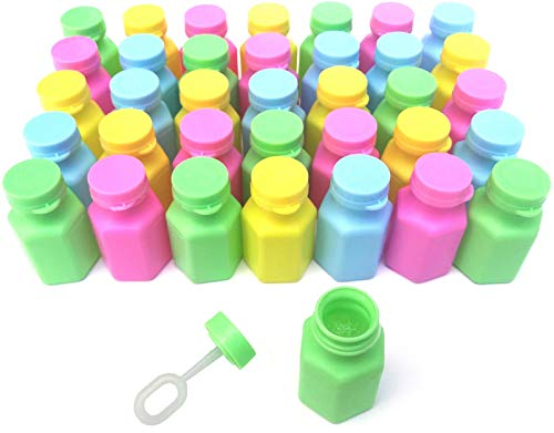 Sunflower Day Mini Bubbles Party Favors for Kids - 36 Pack Bulk Pastel Neon Kids Bubbles Party Favors]()