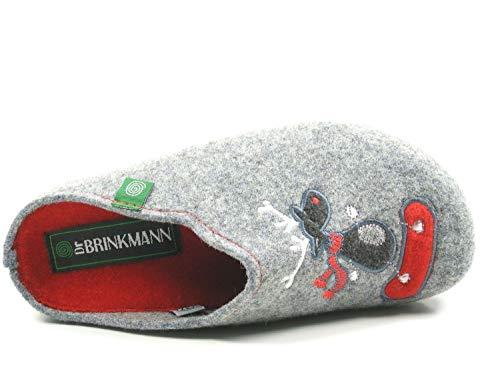320484 Brinkmann Grau 9 pantolette Damen Dr wPxI8qdCP