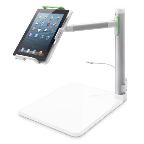 Belkin B2B054 Tablet Stage Stand for Presenters and Lecturers for Tablets from 7-11 Inches Including All Generations of iPad, iPad mini and iPad Air, Designed for School and Classroom (Ipad Stage On)