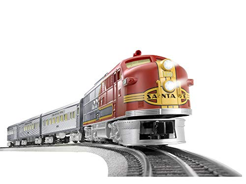 Lionel Santa Fe Super Chief Lion Chief Ready to Run Train Set -