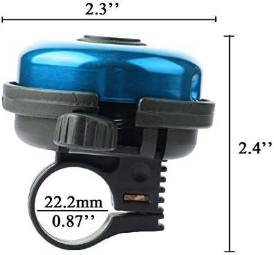 dise/ño de timbre de bicicleta para adultos Yuhai ni/ños Timbre de aluminio para bicicleta ni/ñas y ni/ños
