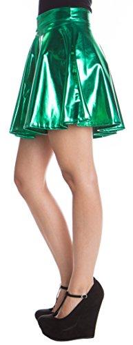 metalic-skater-skirt-green-small