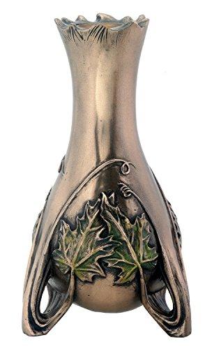 Bronze Jugendstil Nouveau Candle Holder