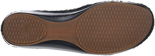 Pikolinos Navy Vallarta Womens Puerto blue 655 Leather 0732C5 Sandals C4ACrwUq