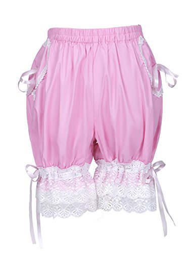 Trendareus Women's Cotton Sweet Color Lolita Pumpkin Shorts Bloomers