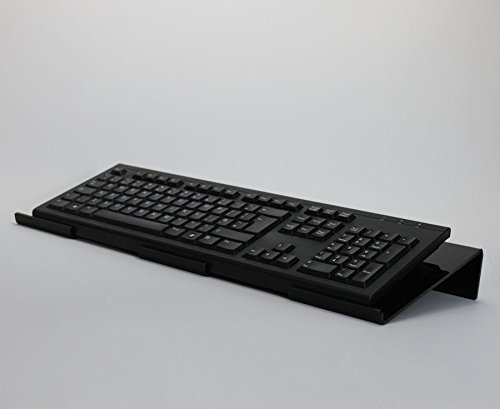 Angled Acrylic Tilted Ergonomic Pc Keyboard Stand Tray