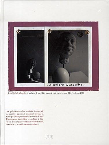 Lire Jean-Michel Alberola : Le seul Etat de mes idées 1 pdf